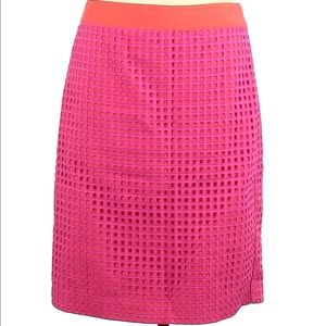 Talbots Women Pencil Skirt Size 8P Bold